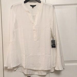 NWT Simply Vera Verawang White Pullover Top